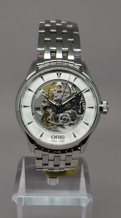 Oris - Artelier Skeleton 40mm - 7591 - Heren - 2015