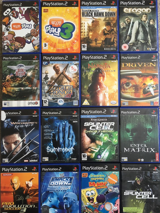 Massive lot of 70 PS2 Games - Includes Many Top Games