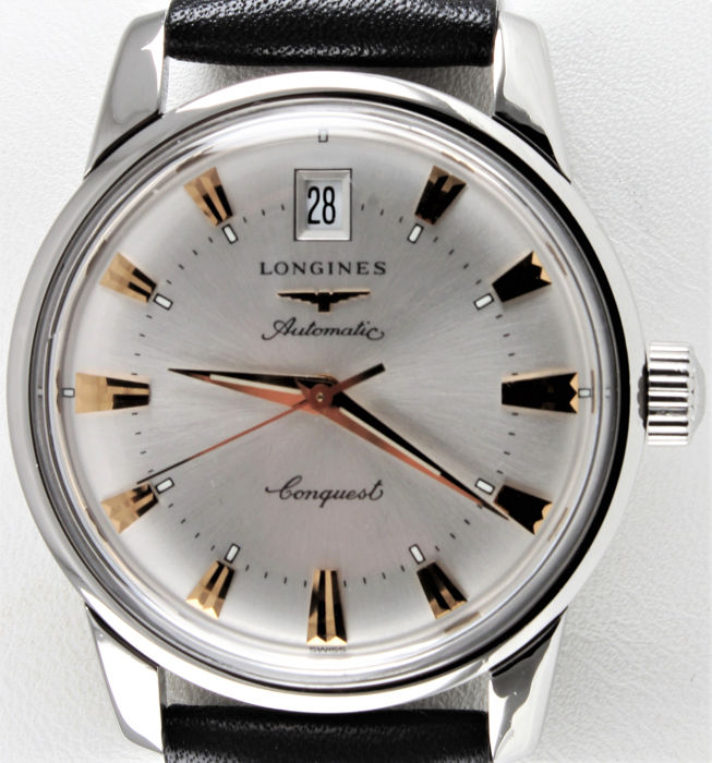 Longines - Conquest Heritage - Swiss Automatic - Ref. No: L1.611.4.75.2 - Excellent - Warranty  - Hombre - 2011 - actualidad