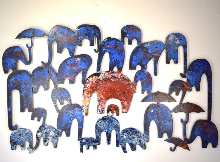 Oleg Jablonski - Blue Elephants