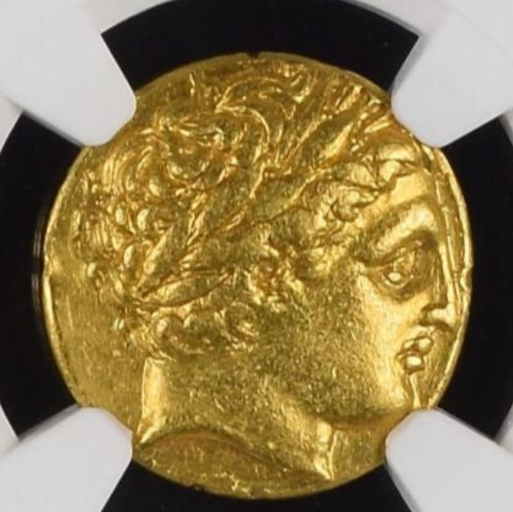 Greece - Kings of Macedonia, Gold Stater, Philip II (359-336 B.C.). Lifetime or early for sale