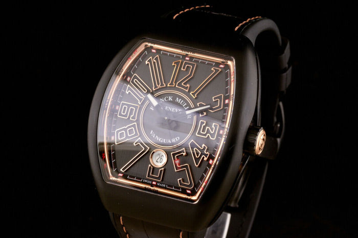 Franck Muller - Vanguard Black Titanium and 18K Pink Gold New Unworn! - V 45 SC DT - Heren - 2011-heden