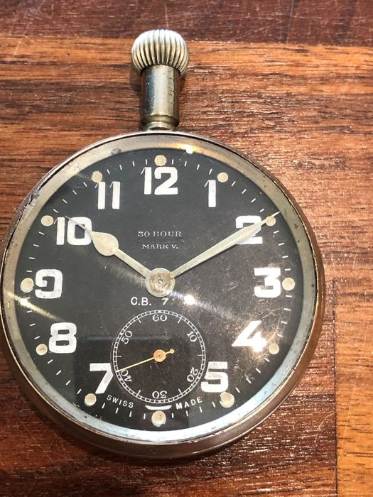Zenith - Military RAF Pilots  Pocket Watch - 2287101 Mark V - Men - 1901-1949