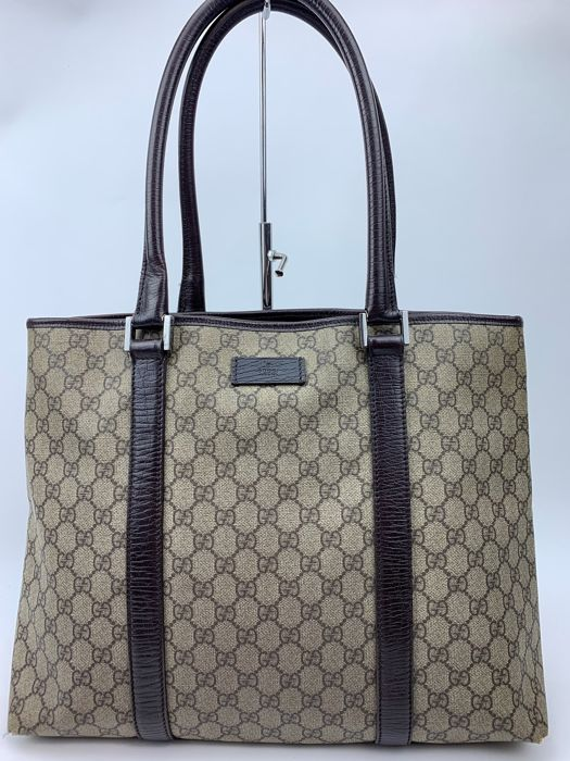 7176d2b89 Gucci - GG partern Business/ Tote bag - Catawiki