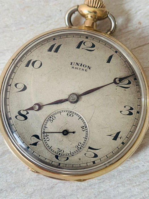 Union - ancre - 14k - 633244 - 10002 - Heren - 1901-1949