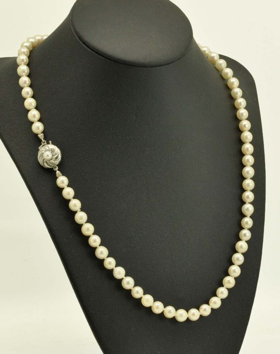 835 Akoya pearls - Necklace