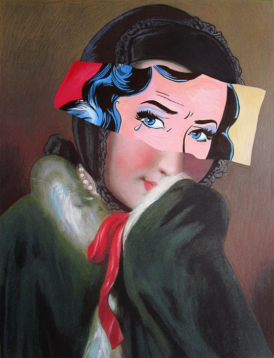 Jack Risto - Young girl with red ribbon