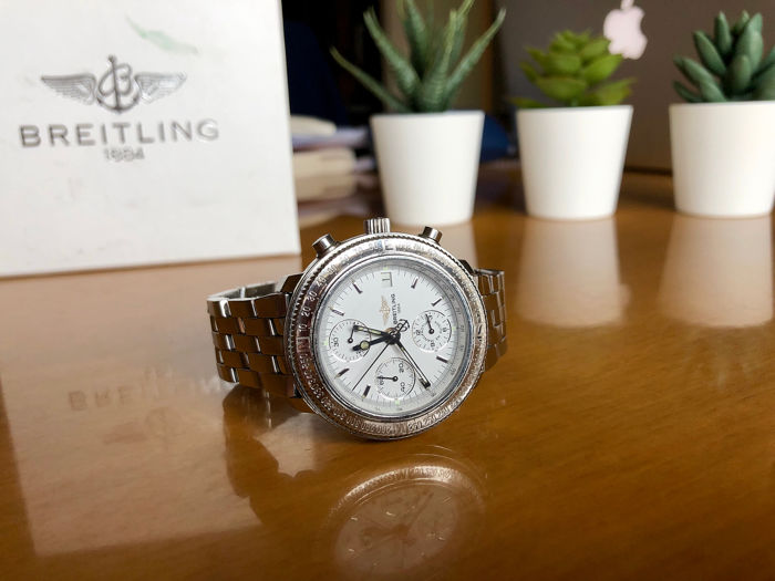 Breitling - Astromat Longitude GMT Limited edition 208/700 - A20405 - Unisex - 1990-1999