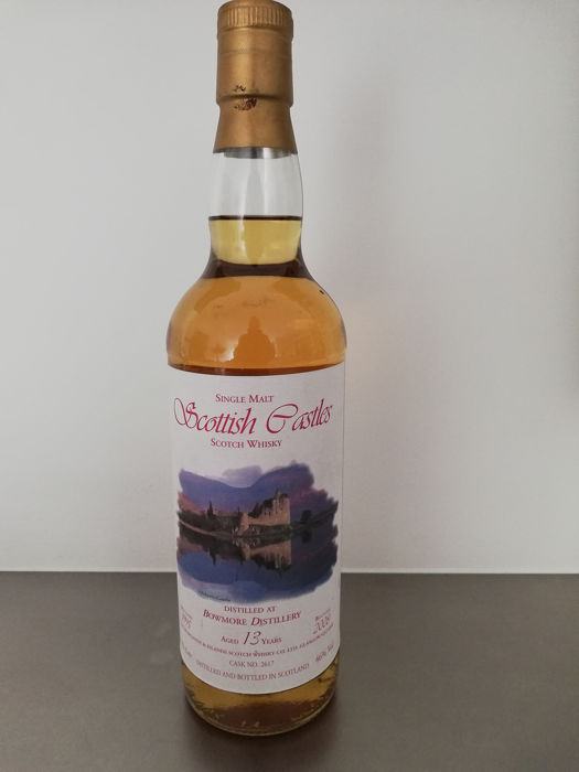 Bowmore 1995 13 years old Scottish Castles - Single Cask #2617 - Jack Wiebers Whisky World - b. 2008 - 700ml