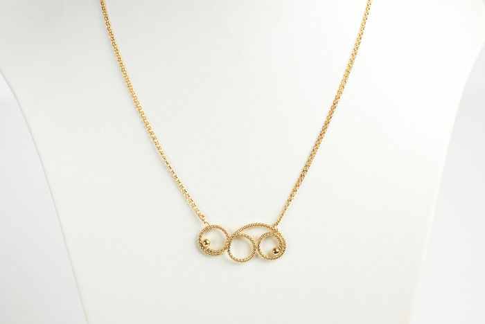 UNOAERRE - 18 kt. Yellow gold - Necklace