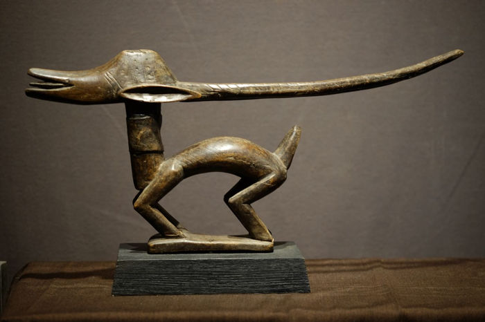 animal - Wood - Shiwara - Bamana - Mali
