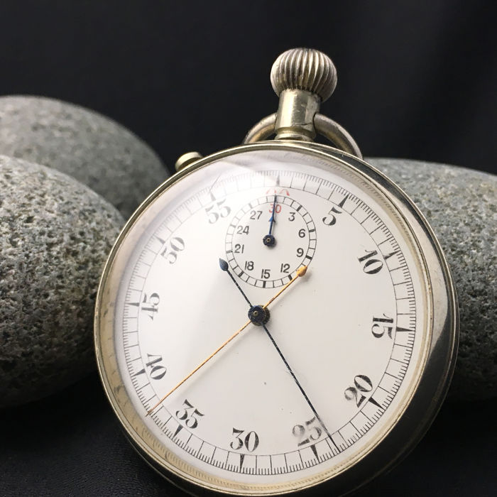 Lemania  - WW2 Military Stop watch (Split second function) - Royal Navy  - NO RESERVE PRICE  - Uomo - 1901-1949