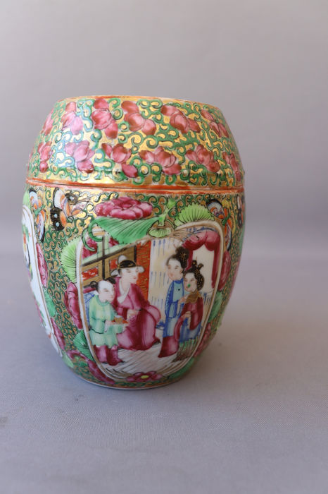 Pot - Porcelain - China - Late 19th century