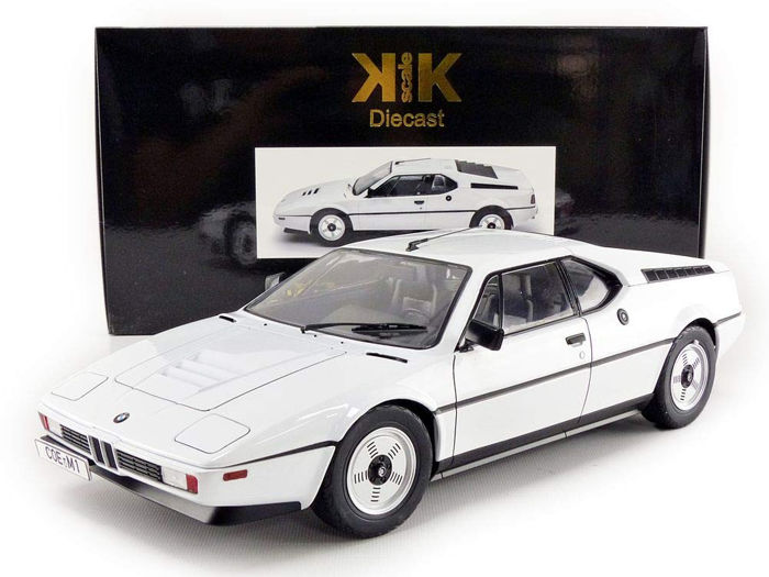 KK Scale - 1:12 - BMW M1 (E26) Street 1978 - Limited Edition or 400 pcs.