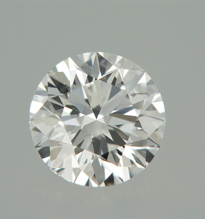 1 pcs Diamante - 0.40 ct - Brillante - D (incoloro) - IF (Inmaculado), LC (Puro a la lupa)