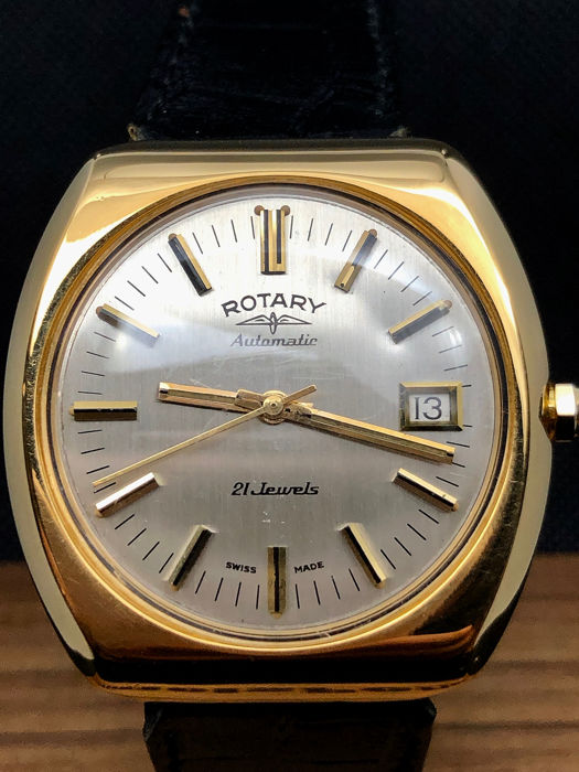 Rotary - Automatic 21 Jewels - Homme - 1960-1969