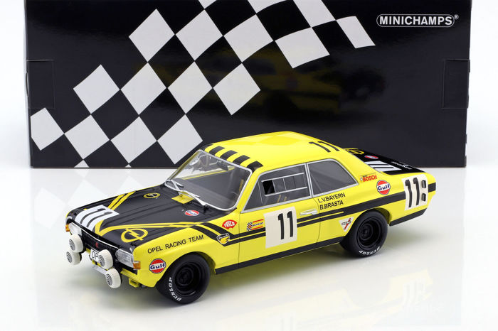 MiniChamps - 1:18 - Opel Commodore A Steinmetz #11 24h Spa 1970 - Limited Edition or 200 pcs.