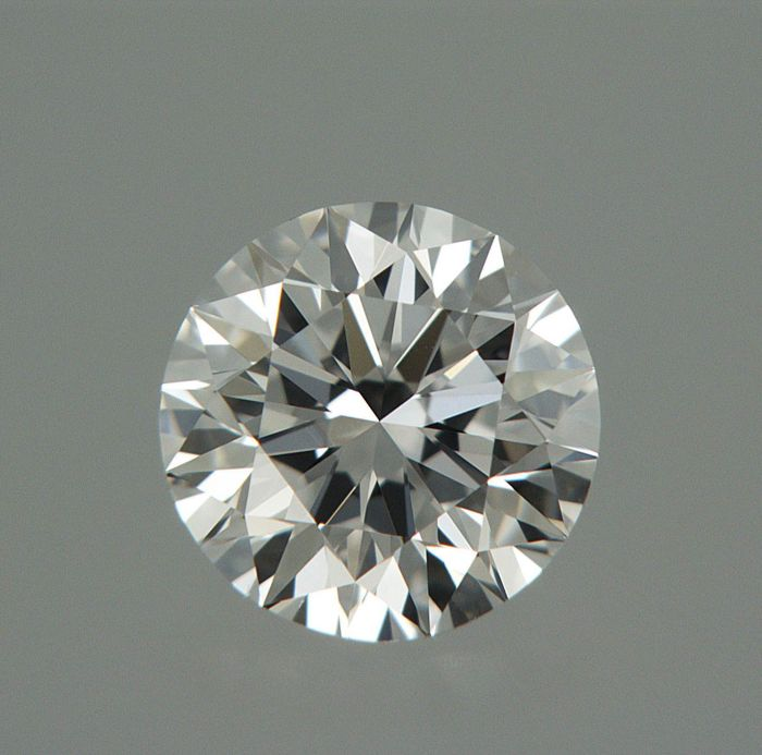 1 pcs Diamant - 0.50 ct - Brilliant - D (färglös) - VVS1