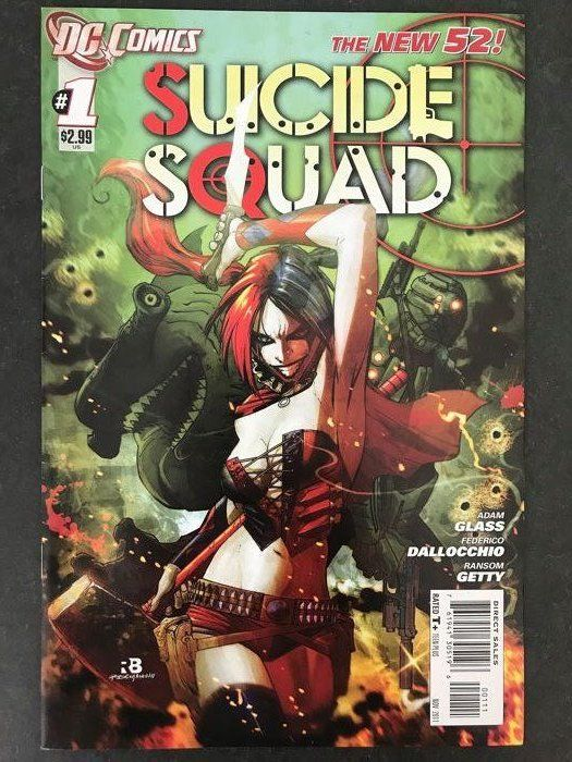 Suicide Squad Vol. 4 (2011), Harley Quinn (2013) and Gotham City Sirens (2009) - DC Comics - Softcover - First edition - (2009/2013)