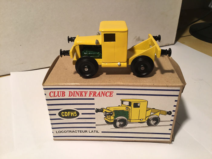 Dinky Toys - 1:87 - Locotracteur LATIL H14 TL - CDFH5 Club Dinky France