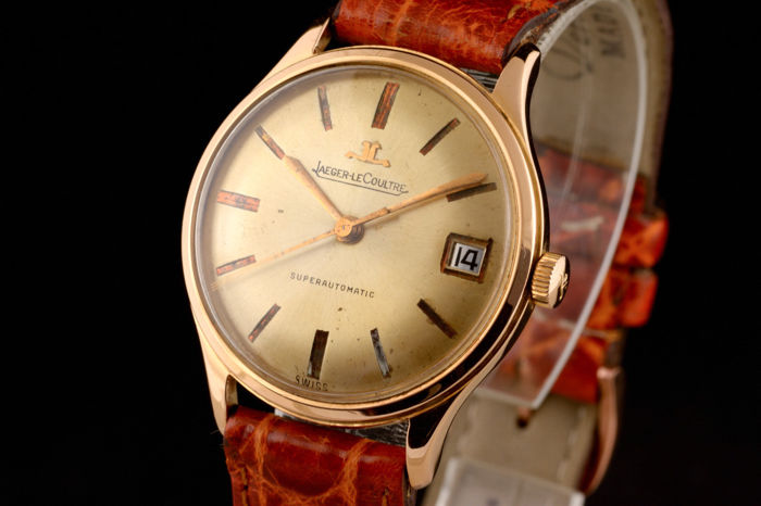 Jaeger-LeCoultre - Vintage 18K Pink Gold Chronometer Quality Automatic Rare - Uomo - 1960-1969