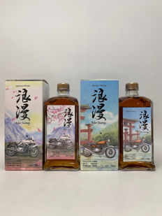 Mars Japanese Whisky Romantic Edition 1 & Edition 2 - Biker Journey - 72cl - 2 sticle