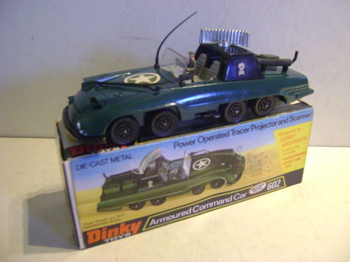 Dinky Toys - 1:43 - 602 Armoured Command Car Designed By Gerry Anderson