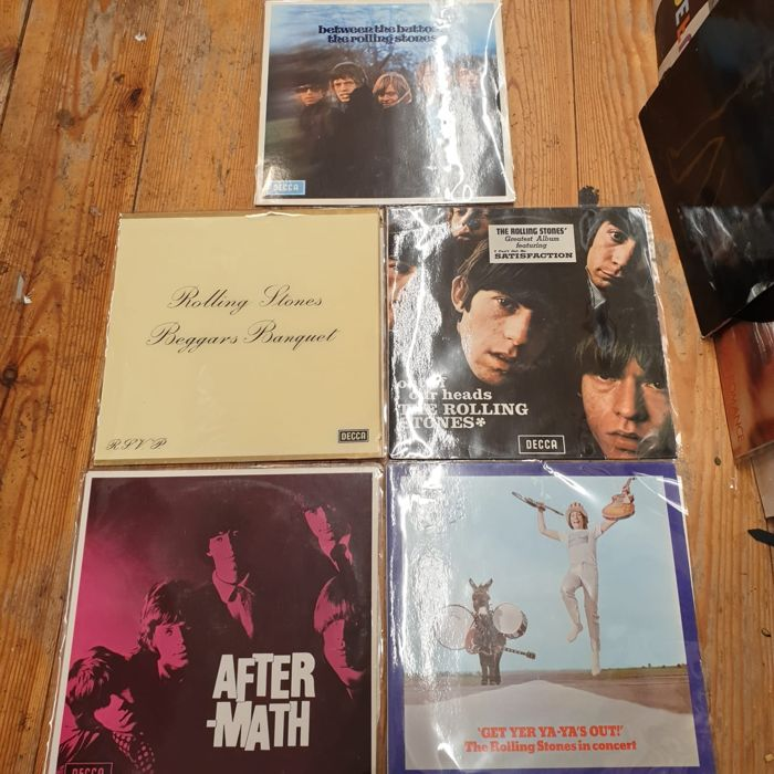 Rolling Stones - Beggars Banquet, Aftermath, Between the