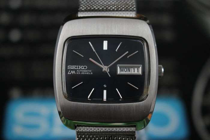Seiko - LM (Lord Matic) Vintage Automatic Cal5606 Wristwatch - 5606-5070 - Homme - 1970-1979