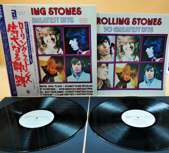 Rolling Stones - (Promo) 30 Greatest Hits very rare promoversion from 1977  - 2xLP Album (double album), Limited edition - 1977/1977 - Catawiki