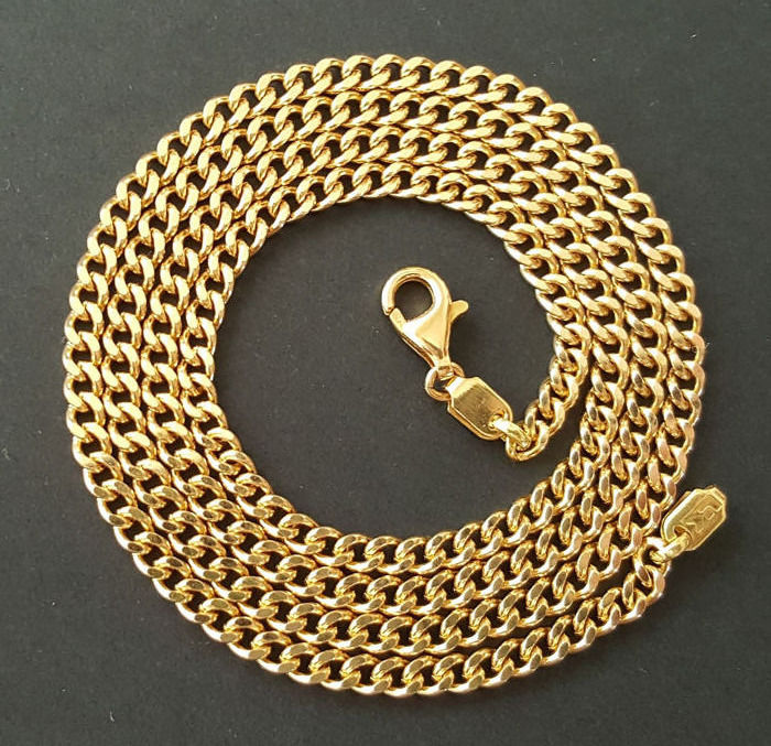 26.7 gr 60 cm - 18 kt. Yellow gold - Necklace