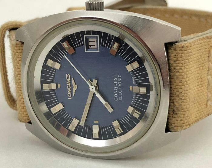 Longines - conquest electronic 1970's - 7212 - Homme - 1970-1979