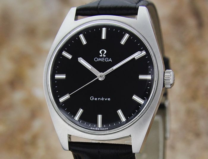 """Omega - Geneve - """"NO RESERVE PRICE"""" - 135.041 - Homme - 1960-1969"""
