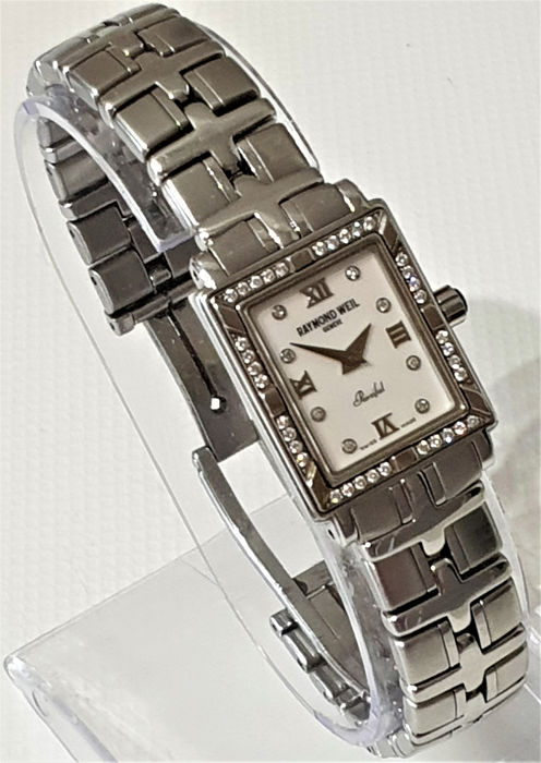 """Raymond Weil - Parsifal With Diamonds """"NO RESERVE PRICE"""" - Mujer - 2000 - 2010"""