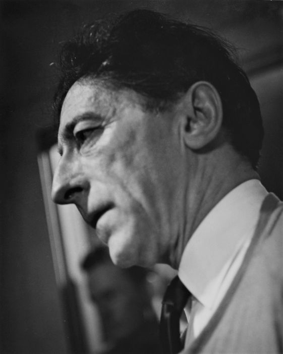 Peter Basch (1921-2004)  - Jean Cocteau in New York, c.1955