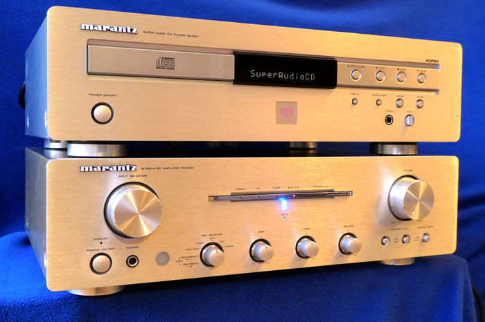 Marantz - SA-7001 SACD & PM-7001 - SACD - Amplifier, CD Player - Catawiki