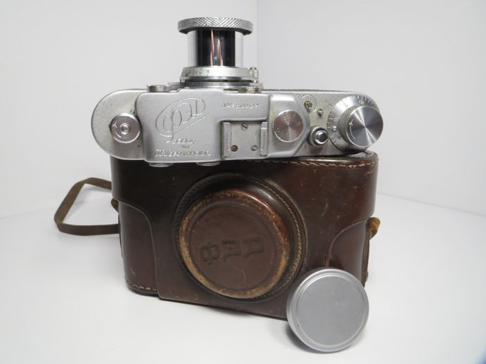 FED  1 (F)  /PE0290/With non-standard body coating. One case !! (1949) USSR.