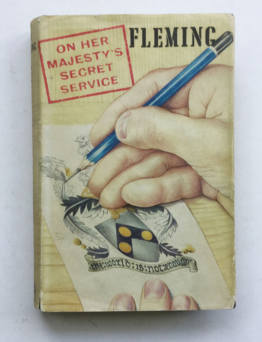 Ian Fleming - On Her Majesty's Secret Service  - 1963