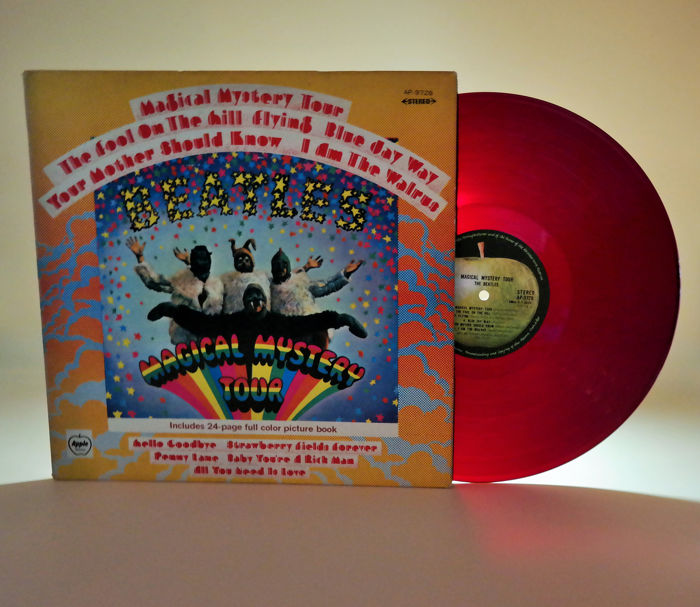 Beatles -  The Beatles – Magical Mystery Tour/ now 50 years in red ! - LP Album - 1969/1969