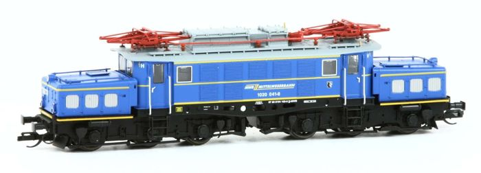 Arnold N - 2311 - Electric locomotive - BR194, Series 1020 unique blue version - MittelWeserBahn / MWB