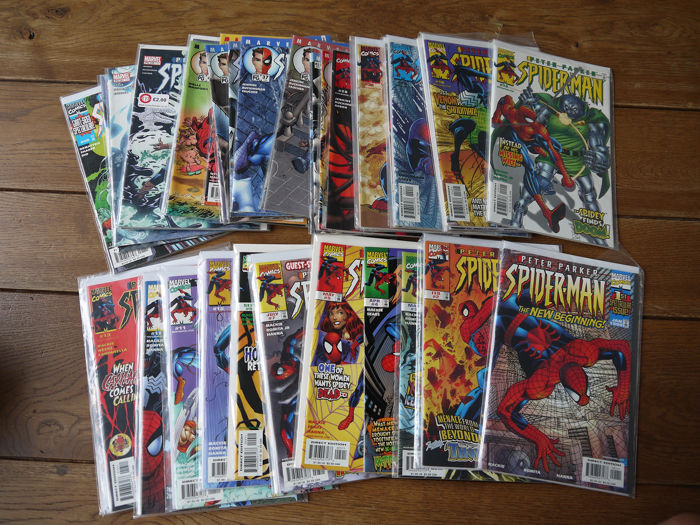 Peter Parker Spider-Man - Near complete set - Softcover - First edition (1999)