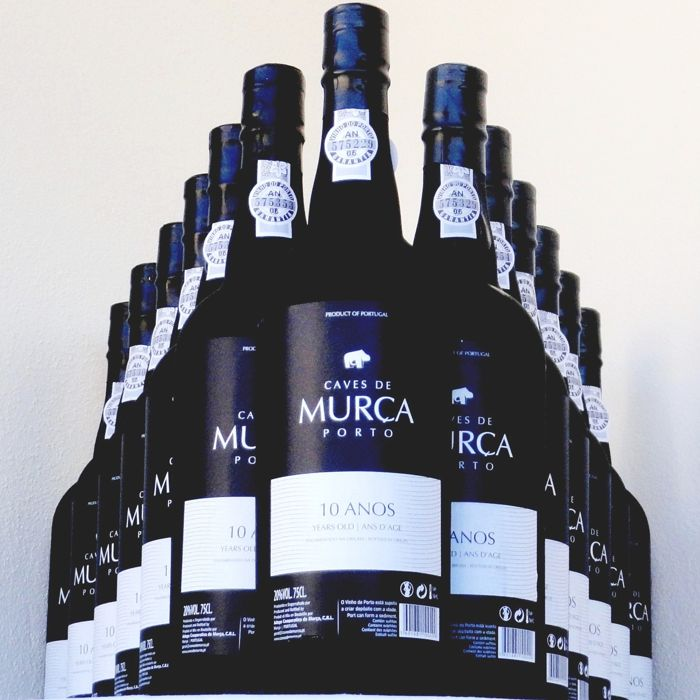 Caves Murça  10 years old Tawny - 8 Bottles (0.75L)