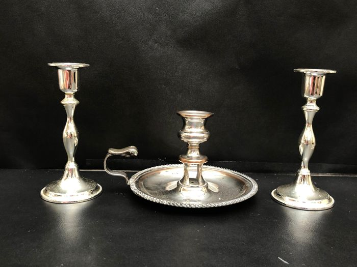 EP - Candlestick - Silverplate