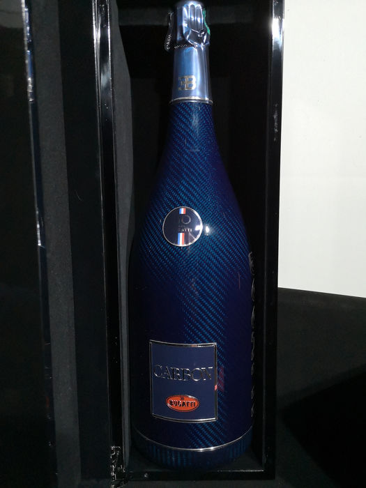 Carbon Limited Edition 110 Years of Bugatti - Champagne Brut - 1 Bottle (0.75L)