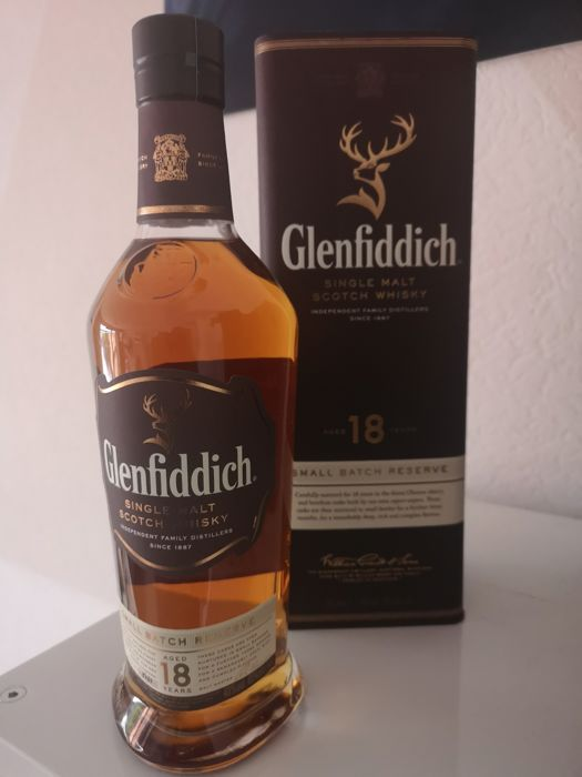 Glenfiddich 18 years old Small Batch Reserve - 0.7 Ltr