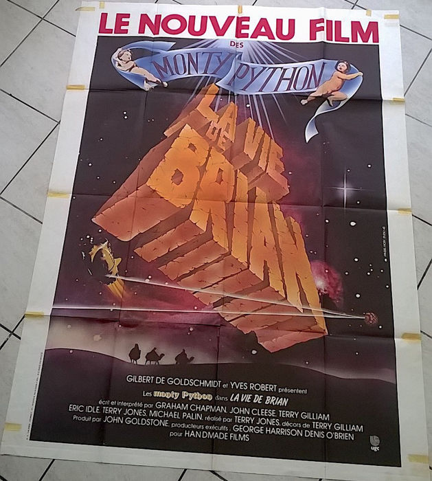 Monty Python - 3 movie posters and 6 Lobby cards - Life of Brian