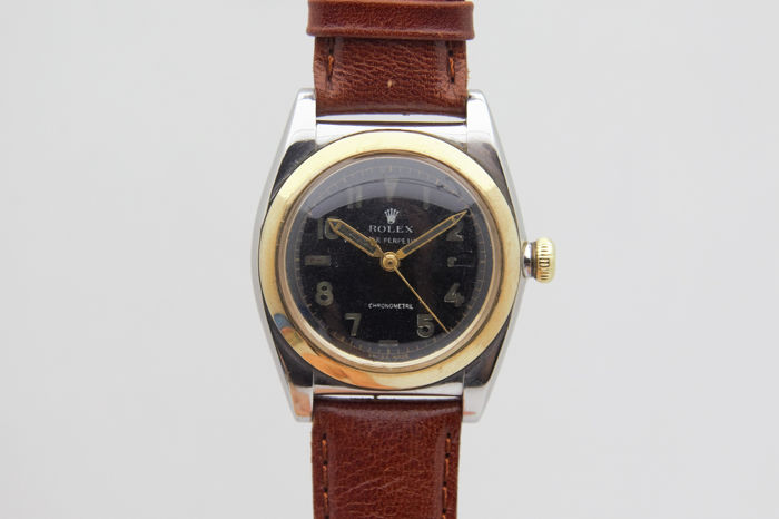 "Rolex - Bubble Back - 3133 "" NO RESERVE PRICE "" - Unisexe - 1950-1959"