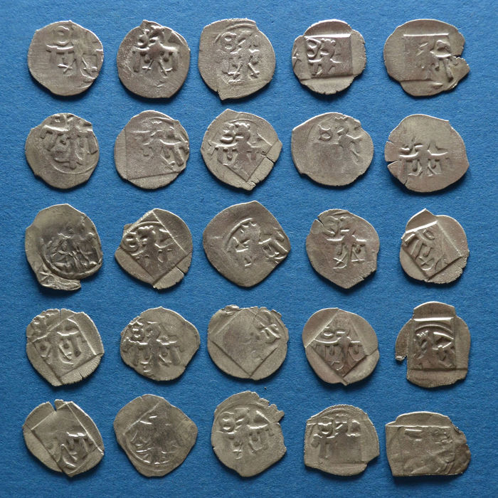 Holy Roman Empire - Collection of 25 Silver Pfennig Sigismund of Luxembourg