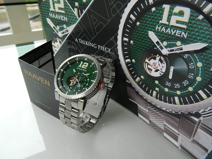 Haaven - 90902M-GR Automatic Full Set Limited Green Edition ! - Men - 2011-present