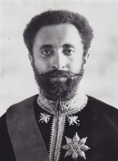 Unknown/ INP - Haile Selassie, 'The Emperor of Abyssinia', 1930